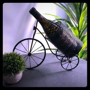 💙EUC Distressed Bicycle Wine Holder💙